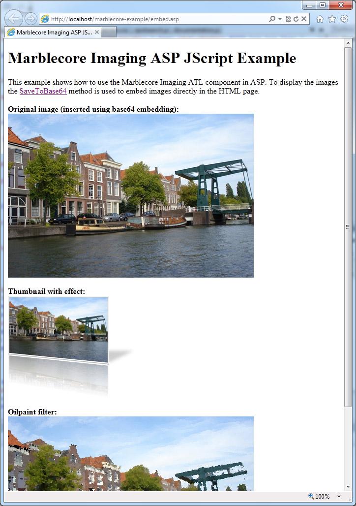 classic asp website example jscript marblecore imaging